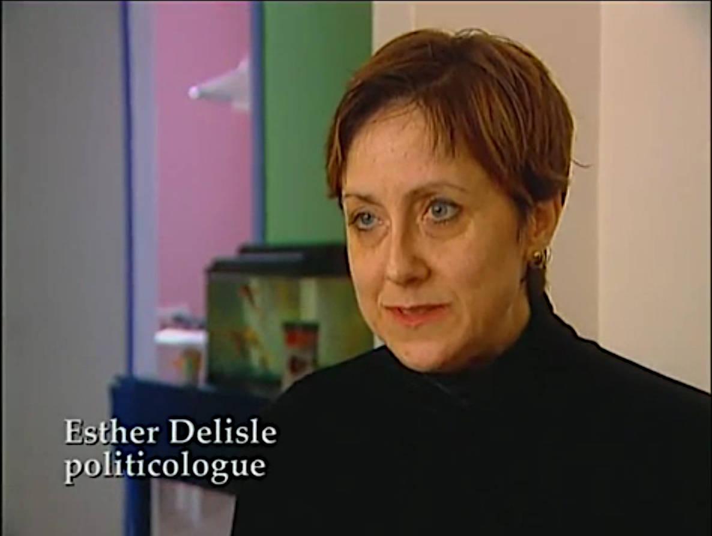 """Esther Delisle dans """"Je me souviens""""."""