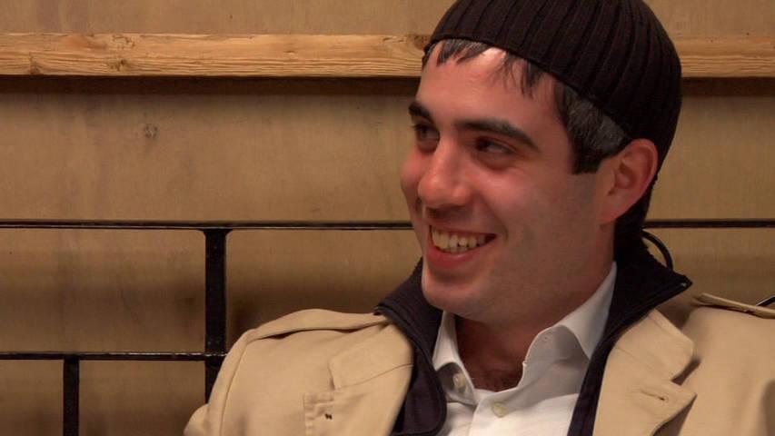 Levi Riven smiling